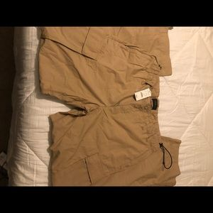 Tan cargo pants from Express